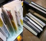 Putting together idea books