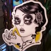 Sarah's FFF sticker