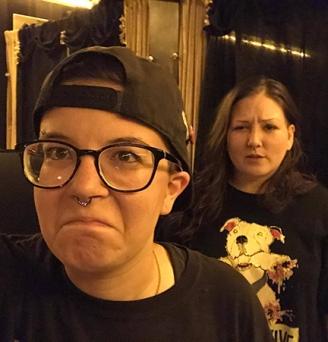 Sarah's drunk