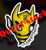 Brian's bee sticker